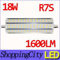 super bright 18W dimmable lights AC85- 265V Warm white R7S LE...