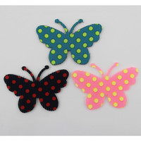 Wholesale New Fashion Korean Style Posted Magic Belt Dot Butterfly Design Hair Accessories for Girls Women Headwear HJ164