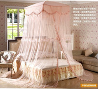 Wholesale Welcome to the Court suspended ceiling floor dome mosquito net idyll Princess wind