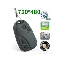 Wholesale New Hidden DVR Cam Video Recorder Mini Key Chain DV Spy Camera Camcorder