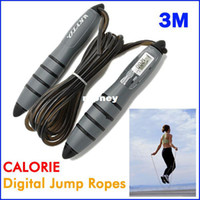 Wholesale Intelligent CALORIE M Digital Skipping Jump Rope Counter Timer LCD HS0053