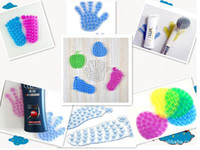 Wholesale DHL Magic Suction Cup Bathroom Mat Multifunctional Superstrong Suction Double Sides Anti Slip Sucker