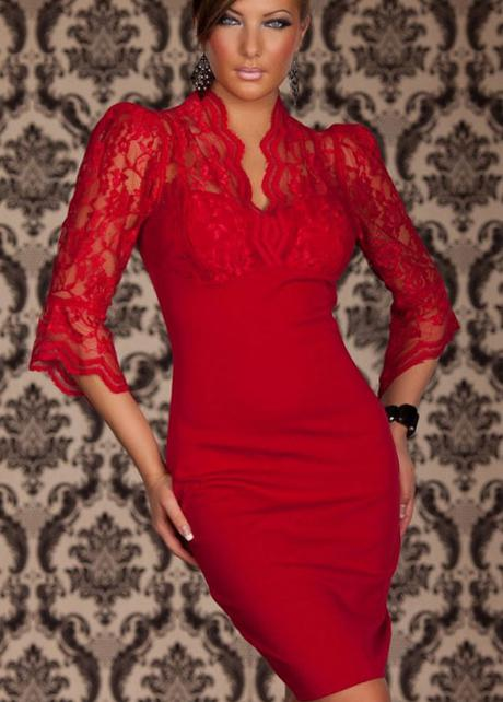 Best red lace dress mini dresses