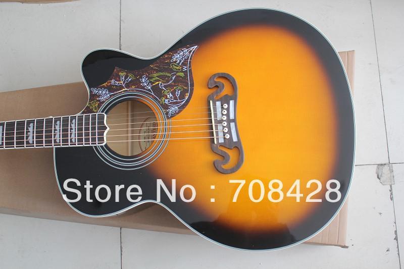 Cutaway Acoustic Guitar Kit J200vs Acoustic Guitar Cutaway