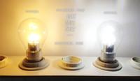 Wholesale New W LEDs E27 AC85 V Warm White Glass Design LED Bulb Light LED Lamps LED Spot Lights