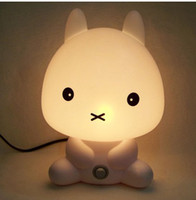 No best reading lamps - Hot Cute rabbit reading lamp bed night light best for romatic bed night