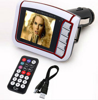 Wholesale 1 Inch CSTN Screen Display Car MP3 Player MP4 With Built in Wireless FM Stereo Transmitter SD Card H092