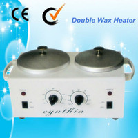 Wholesale Promotion Au A double paraffin wax pot warmer hair remover