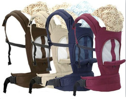 Wholesale NEW Four season usage new baby carrier improved net cloth breathable baby carrier baby back bag holding bag