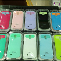 i-glow cases - Colourful i Glow i Glow luminous case PC TPU back cover skin for Samsung Galaxy S4 i9500 S with retail packing
