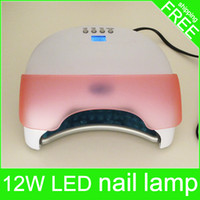 Wholesale Hot sell watt led nail lamp nail dryer high quality can dry shellac gelish uv nail gel polish