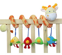Cloth 0-12 Months Christmas 0-1 years old baby toys, baby deer ItsImagical trade multifunctional hanging around the bed bell bed retail