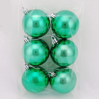 Wholesale Color Plating Plastic Ball Dia cm for Display Xmas Tree Ornaments or Wedding Decoration