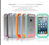 shockproof INFISENS Dotom Silicone Bumper Case for iPhone 5 ...