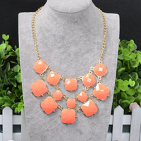 Wholesale New Fashion Bib Necklace New Bubble Necklces for Women jewelry
