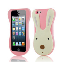 Wholesale Le Sucre D silicon gel rabbit cute cartoon phone soft Jelly case cover skin shell for iPhone G Korean style