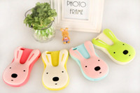Wholesale Le Sucre D silicon gel rabbit cute cartoon phone soft Jelly case cover skin shell for iPhone G Korean style DHL