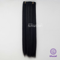 Wholesale From cm cm Black Straight Clip In Full Head Set Wig Hair Piece Extensions Hairpieces H8002F H8003F