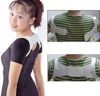 Cheap Wholesale - 100 pcs lot Posture Corrector Beauty Body Back Support Shoulder Brace Band Belt Correction