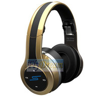 Wholesale 2013 New SMS STREET by DJ PRO Over Ear Headphones Wireless Headphones Bluetooth Headphones EMS Shipping from Flydream