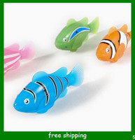 Wholesale styles Robo Fish Magical Turbot Fish Christmas Kids Toys