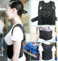 Back Corrector Back black Wholesale - New Back Shoulder Support Brace Posture Corrector Belt Relax Beauty Body Belt