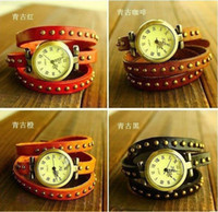 Wholesale Promotion Top Quality Cow leather watches ROMA watches header women watch