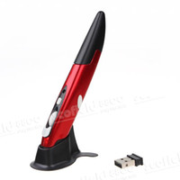 Wholesale iPazzPort KP G Wireless Mini Pen Mouse Red