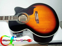 best acoustic electric guitar strings - Custom Acoustic Electric Guitar in Sunburst J185 Classic EC30 Acoustic guitar Electric acoustic guitar Best from china