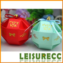 Wholesale Small Gift Boxes Paper Color Joyful Origami Fitting Candy Bags Wedding Accessories HQ0168
