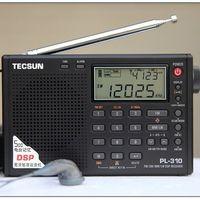 Wholesale New TECSUN PL310 FM MW LW SW DSP WORLD Band Radio PL H104 FM STEREO SW MW LW DSP RECEIVER