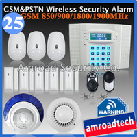 GSM PSTN Dual Network DIY Wireless Home Alarm Burglar System...