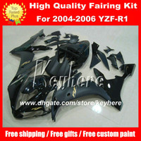 Custom DIY ABS plastic Fairing kit for YAMAHA YZF1000R 2004 ...