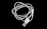 Wholesale High Quality amp For iPhone USB Cable Chargering Cable Cord for iPhone5 iPad4 iPad mini iPod touch5 Nano7
