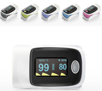 Wholesale Finger Pulse oximeter OLED screen direction change with protect case gift box