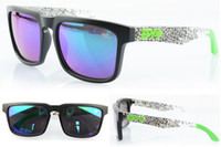 Wholesale New Style SPY OPTIC KEN BLOCK HELM Cycling Sports Sunglasses for Outdoor Sports Wayfarers Sunglasses