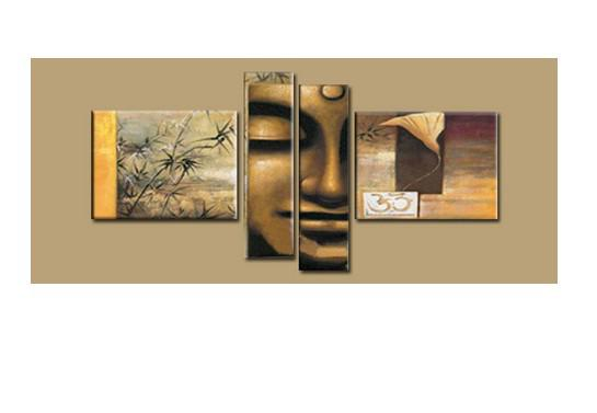 Cheap Modern Wall Decor large cheap modern abstract wall art decor buddha feng shui canvas