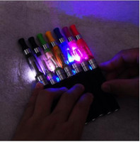 Atomizer high led - High Quality LED CE4 ml Atomizer with LED Light for EGO Electronic Cigarette E Cigarette