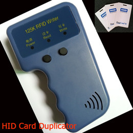 Wholesale Prox Card II Reader Writer Duplicator K RFID Copier Software No Need cards included as Gift Access Control Card Reader LS302