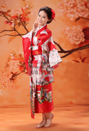 Wholesale 10 Asian Princess Kimono Japanese women s Costume Dress for