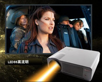 Wholesale Full HD home theater projector brightness daytime daylight use led projector W HDMI USB TV