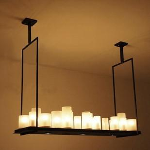 modern kevin reilly alter 95cm led e27 e14 glass iron candles engineering droplight rectangle pendent alter lighting