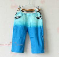 Wholesale Boys Kids Clothes High Waist Jeans Child Clothing Fashion Summer Shorts Boy Jeans Children Casual Pants Jean Shorts Denim Jeans Kids Pants