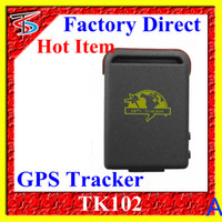 Wholesale Car Gps Tracker Tk102 Mini Personal Tracking Device Quadbands mhz With Tf Slot