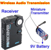 Wholesale new Wireless Bug Covert RF FM Audio Spy Listening Device Easy Operation
