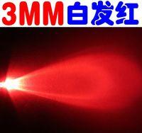 3mm led - 3mm red led superbright red light emitting diode led diodes