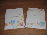 Wholesale sample brochure professional manufacture