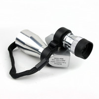Wholesale New Fashion Silver x mm Outdoor Sports Monocular Telescope Adjustable
