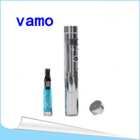 Electronic Cigarette Set Series Vamo v2 1 Set Vamo v2 chrome E-cigarette, Vmax-Vamo Variable Voltage 3-6V 2200mAh Stainless Provari VV Mod Vamo LavaTube kit Electronic Cigarette