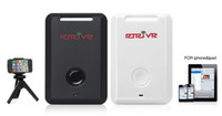 Wholesale 2 in bluetooth remote camera shutter control and anti lost alarm for ipad iphone iOS later
